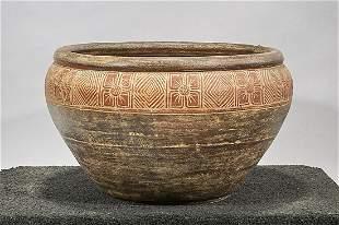 Chinese Glazed Pottery Jardiniere