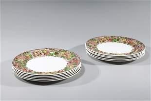 Set of Ten Wedgewood Porcelain Plates