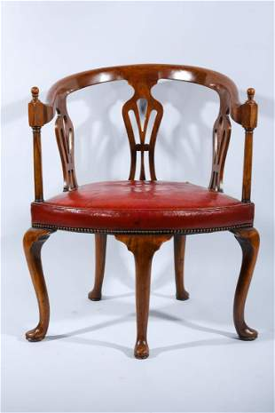 Vintage Chippendale Style Chair