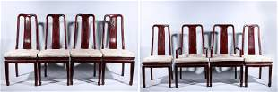 Set of Eight Chinese Wood Chairs