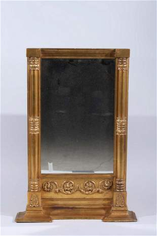 Vintage Gilt-Wood Wall Mirror
