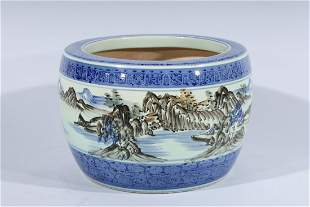 Large Chinese Porcelain Vase