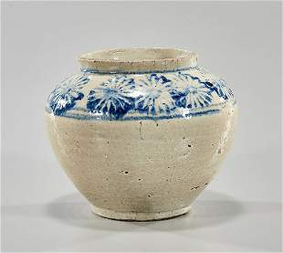 Korean Glazed Ceramic Jar