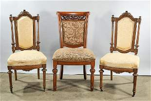 Group of Three Side Chairs