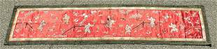 Vintage Chinese Silk Tapestry