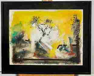 Abstract Watercolor Painting by Douglas