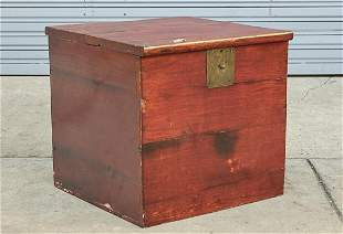 Chinese Wood Chest