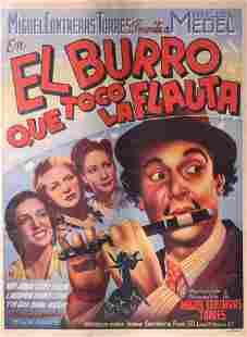 El Burro Que Toco La Flauta Movie Poster
