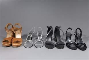 Four Pairs Of Stuart Weitzman Heels - Size 8