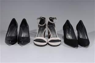 Three Pairs Of Stuart Weitzman Heels - Size 8