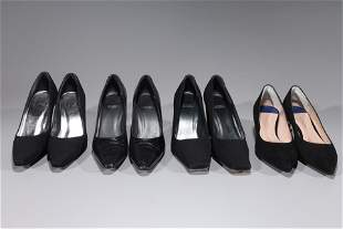 Four Pairs Stuart Weitzman Shoes - Size 8