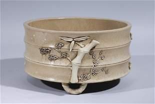 Large Chinese Ceramic Basin