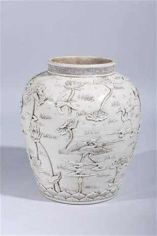 Large Chinese Ceramic Vase