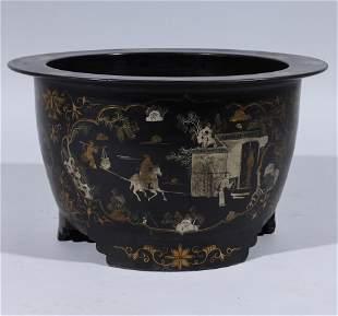 Large Chinese Ceramic Floor Vase