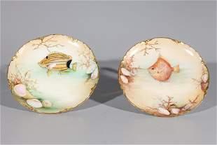Pair Of Haviland Plates