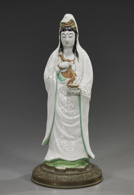 3: Antique Japanese Porcelain Figure