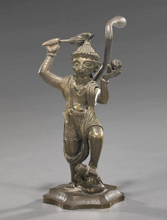 4A: Indian/Southeast Asian Bronze Deity