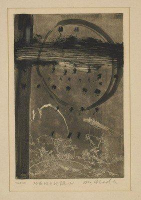 Japanese Etching By Masakatsu