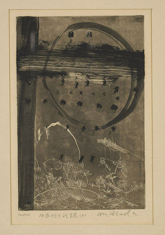 11: Japanese Etching by Masakatsu