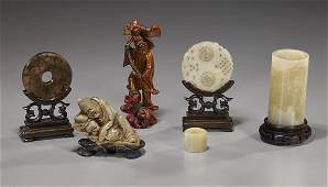 385: Group of 6 Various Chinese Items