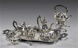 322 JAPANESE STERLING SILVER TEA SERVICE