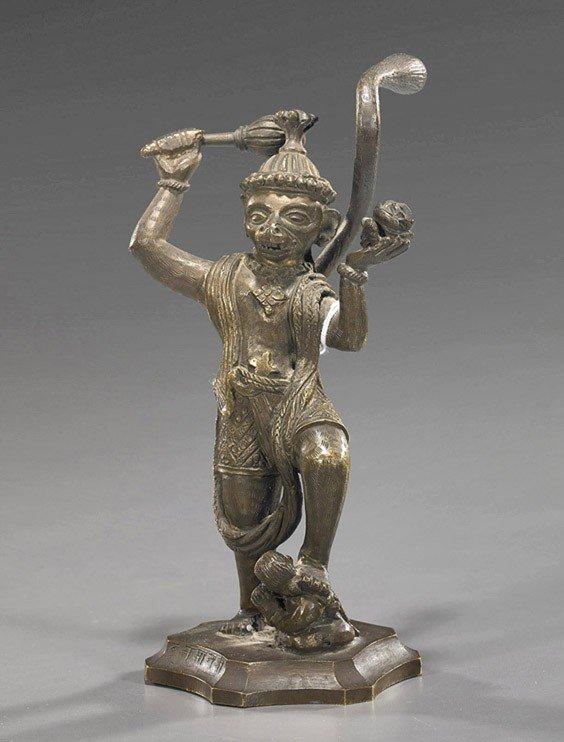 9: Indian/Southeast Asian Bronze Deity