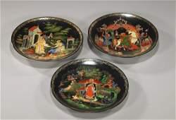 10 Three Russian Collectors Plates