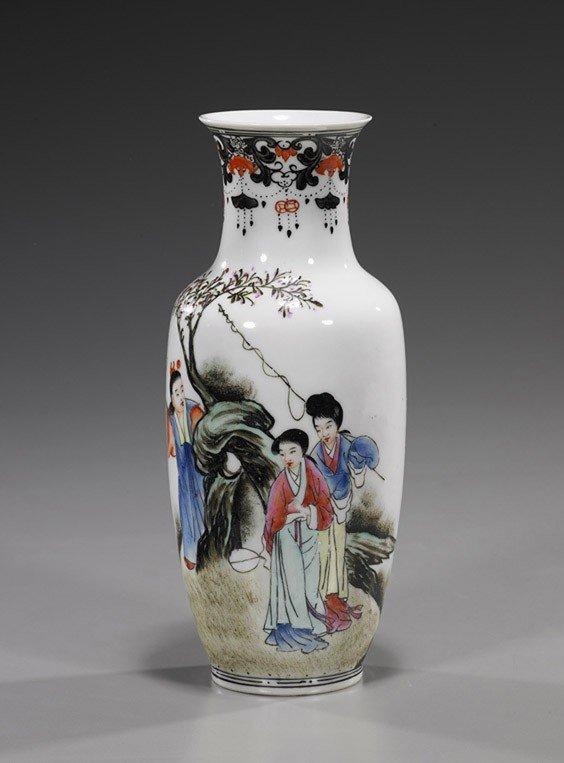 17: Chinese Eggshell Porcelain Vase