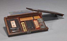 9: Antique Japanese Portable Writing Kit