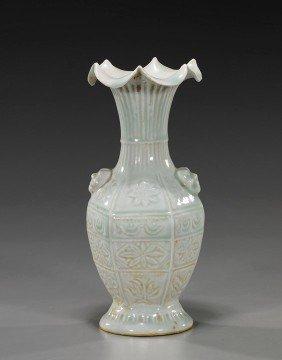Chinese Yingqing-Type Glazed Vase