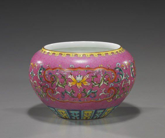 88: Chinese Famille Rose Porcelain Jar
