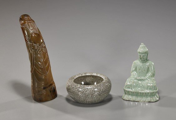 92: Group of 3 Various Chinese Items