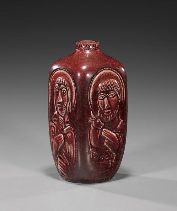 11: Royal Copenhagen Glazed Porcelain Vase