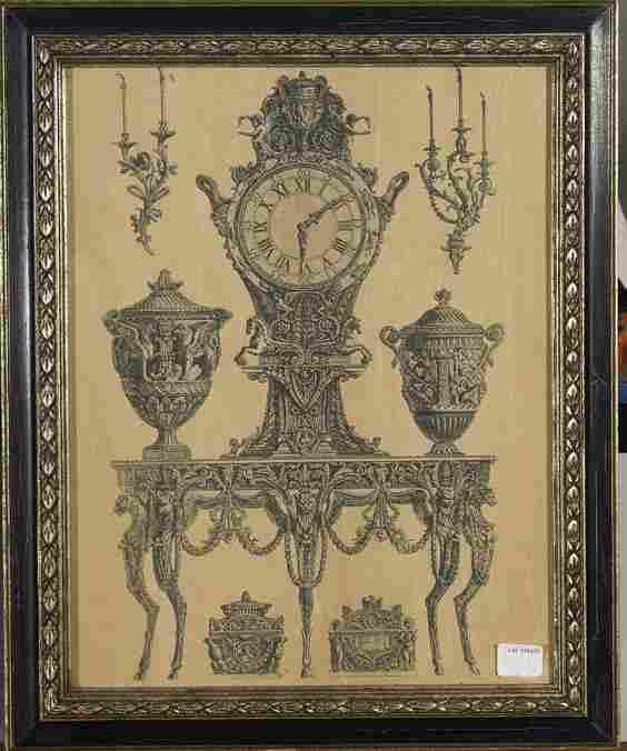 433: Pair of Engravings by Cavalier Piranesi