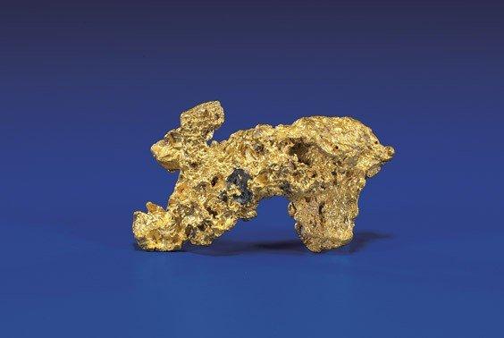 UNUSUAL GOLD NUGGET