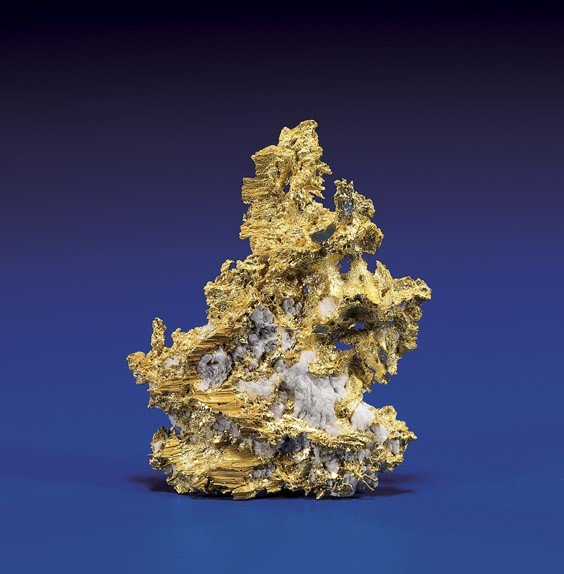 CRYSTAL GOLD NUGGET