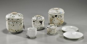 Group Of Chinese Ship Wreck Porcelains
