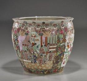 Chinese Famille Rose Porcelain Jardini�re