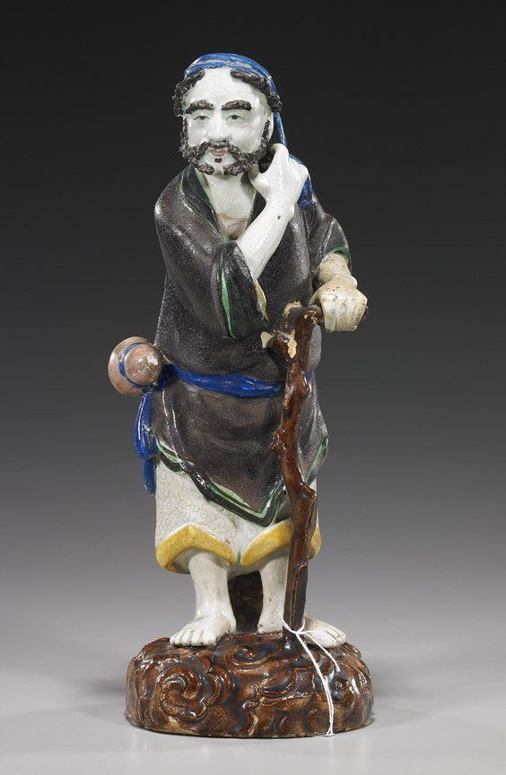 103: Chinese Glazed Pottery Beggar Immortal