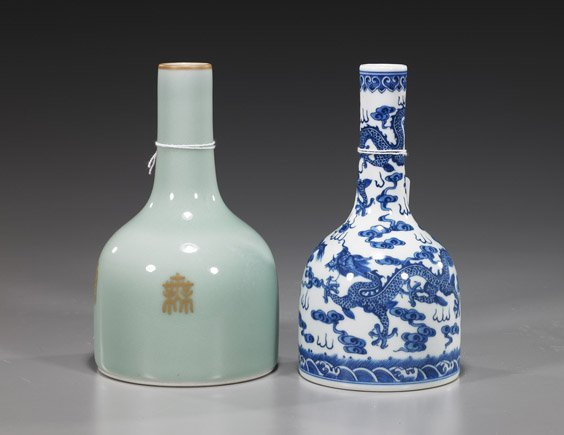 107: Two Chinese Porcelain Vases