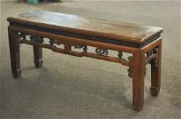 468 Antique Chinese Elmwood TableBench