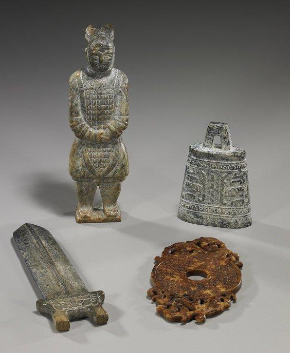 10: Collection of Various Jades & Hardstones