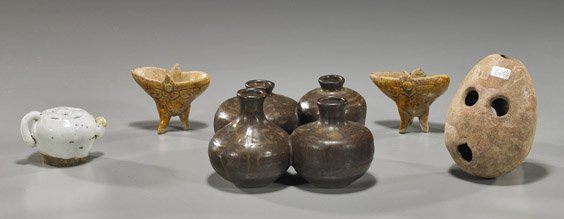 13: Group of Various Small Ceramic Vessels