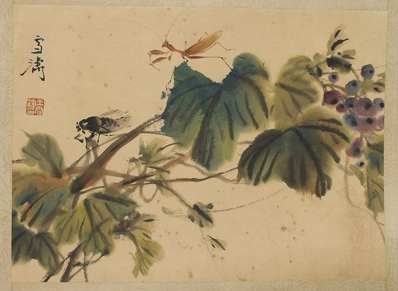 509: Group of Unmounted Chinese Paper Scrolls