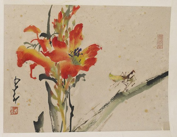 509: Group of Unmounted Chinese Paper Scrolls - 3