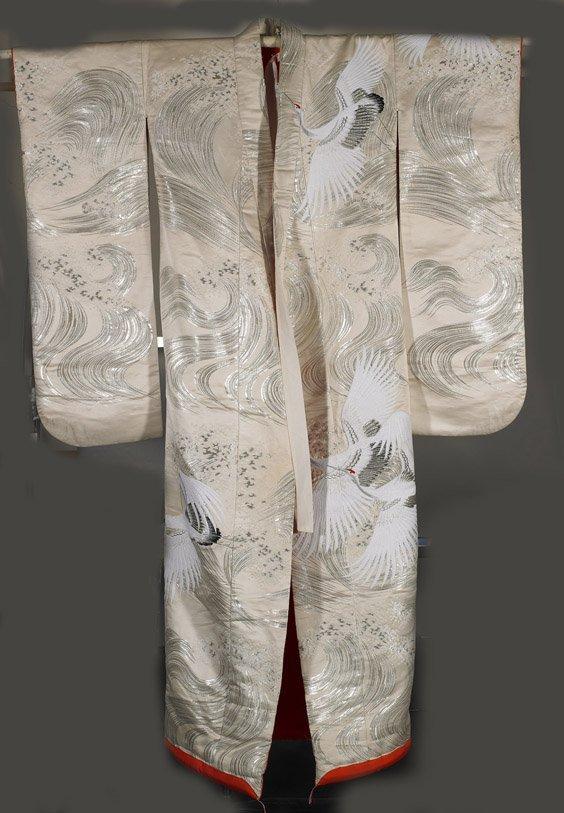 9: Japanese Embroidered Wedding Kimono