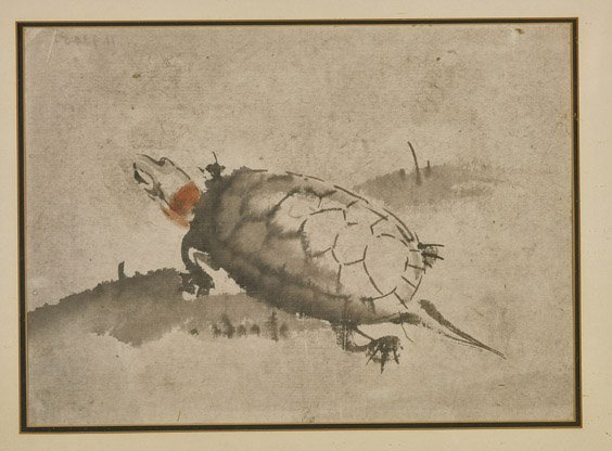 Two Chinese Flatworks: Turtle & Landscape