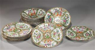 Group of Chinese Rose Medallion Porcelains
