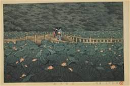 Japanese Woodblack Print by Kawase Hasui