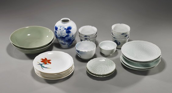 9: Group of Various Japanese Porcelains